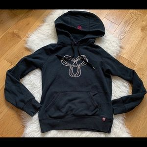 TNA studded black hoodie size small